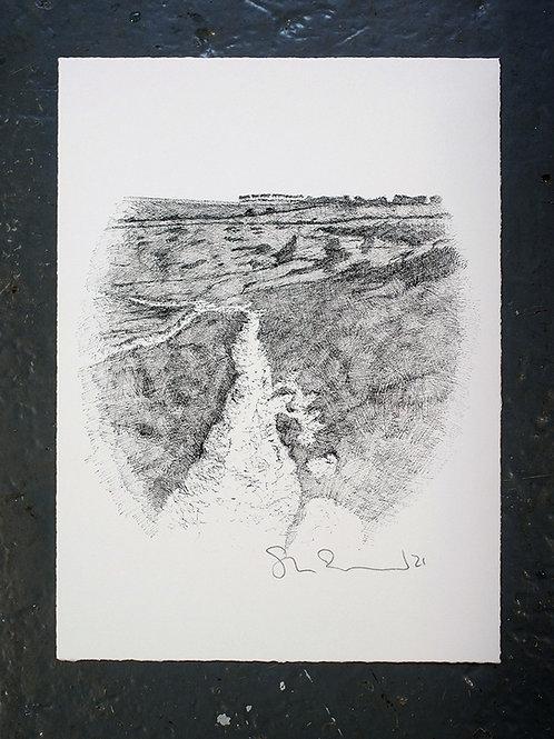 Along to Rough Brow (Print)