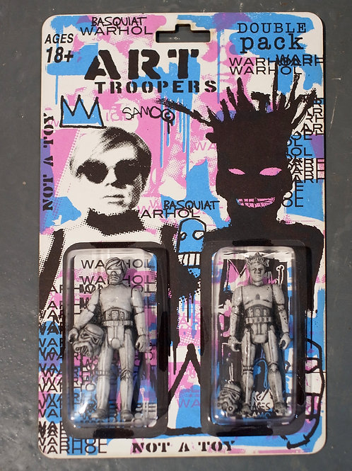 Art Troopers - DoublePack (Pink, Blue)