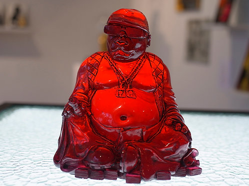 Buddha Smalls - Clear Red