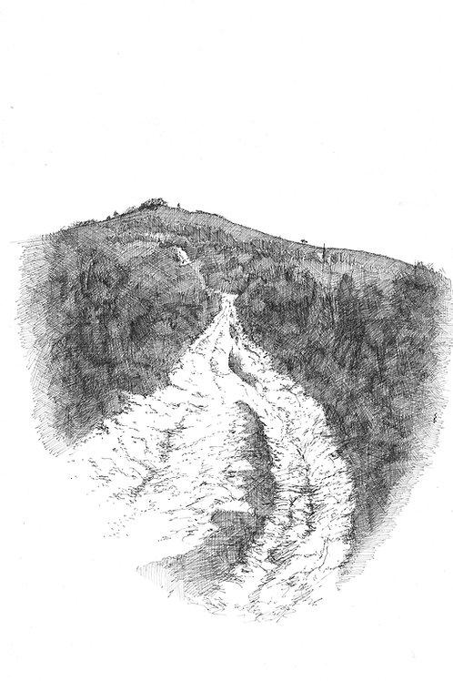 Up to Kingston Ridge (Original drawing)