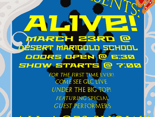 """The GasLight Circus Announce New """"ALIVE"""" Charity Show!"""