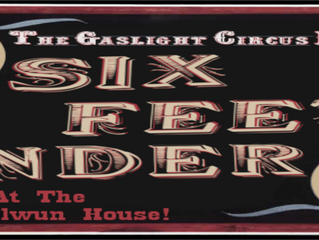 The GasLight Circus Announces First Show of 2017/18 Season! Multiple Dates Already Revealed!
