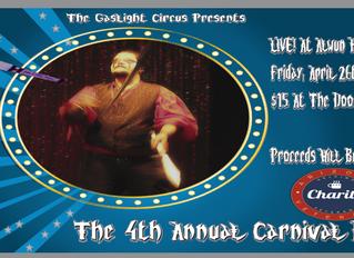 Carnival Ball 4 Set For April Performance