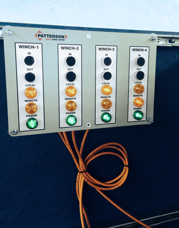 Patterson Control Room Panel Front Wired
