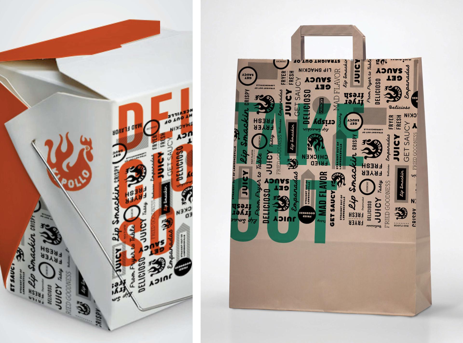Ki Pollo Packaging Design