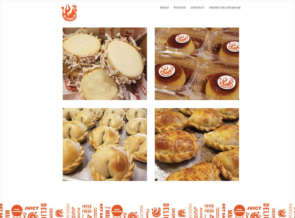 Ki Pollo Website Design
