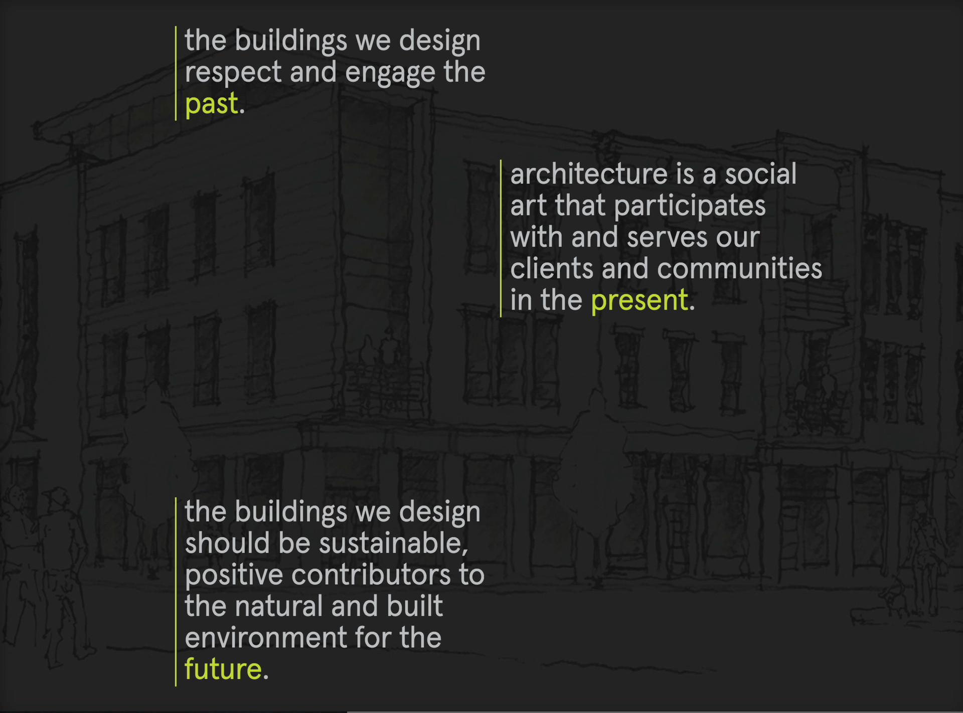 PWWG Architects Website Design