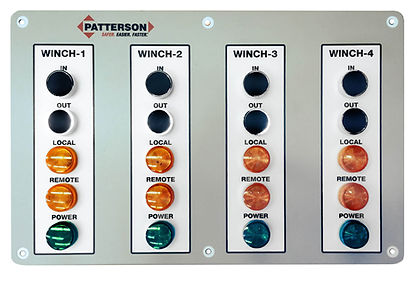 Patterson Control Room Panel Front Outli