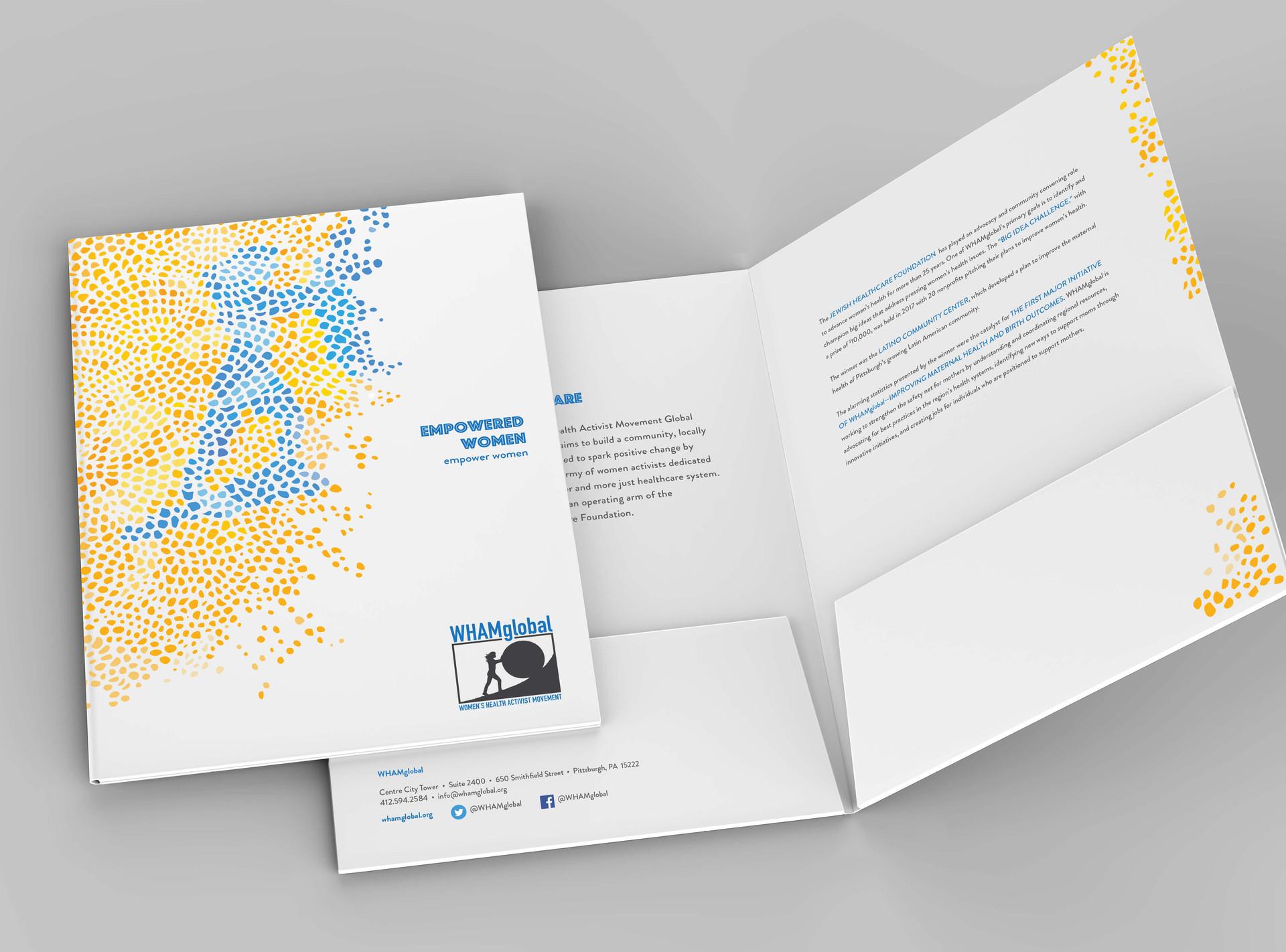 Jewish Healthcare Foundation Pocketfolder Design