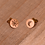 Thumbnail: Sun and moon stud earrings