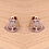 Thumbnail: Tree of life stud earrings