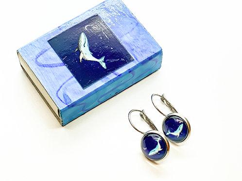 Earrings Whale