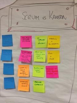 Scrum (vs?) Kanban