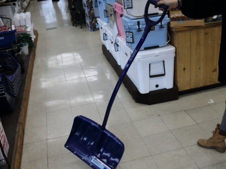 How to snow shovel in Tahoe Truckee