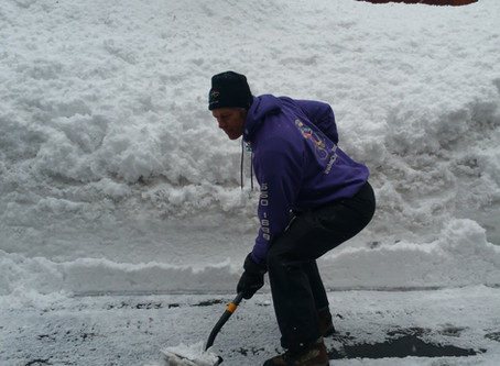 Snow Shoveling Article published in the Truckee Sun