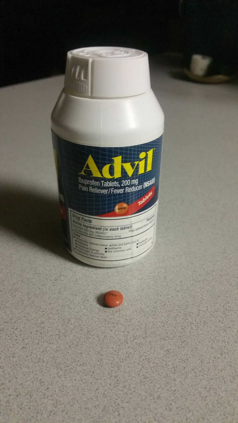 Advil, anti-inflammatory, nsaid
