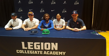 Congratulations to five Lancer signees!
