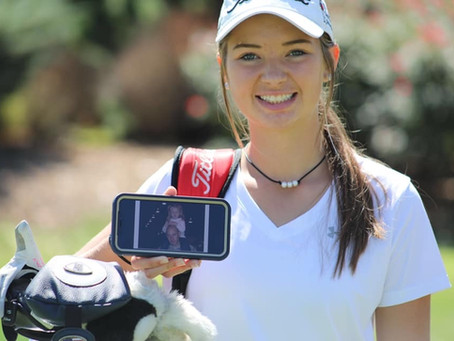 CONGRATULATIONS to LCA golfer Buggy Reinke!