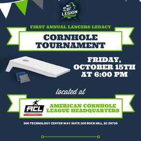 First Annual Lancers Legacy Cornhole Tournament
