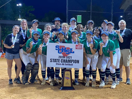 Congratulations to our Varsity Lady Lancers Softball Team winning the 2A State Championship!