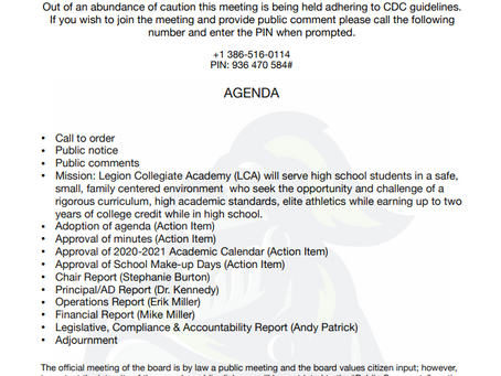 Board Meeting - Thursday, March 26 at  4 pm - Conference Call