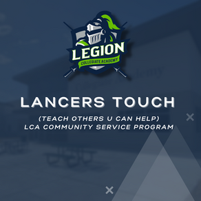 Lancers TOUCH (Teach Others U Can Help)