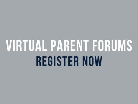 Virtual Parent Forums - Sign Up