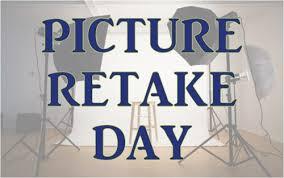 Reminder - Retakes, Oct. 29th