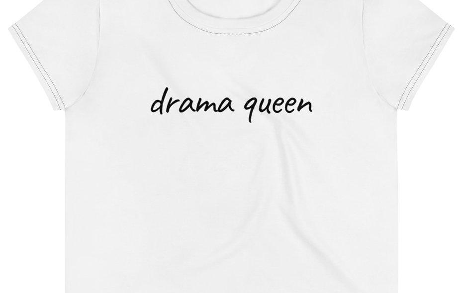 Drama Queen Crop Tee
