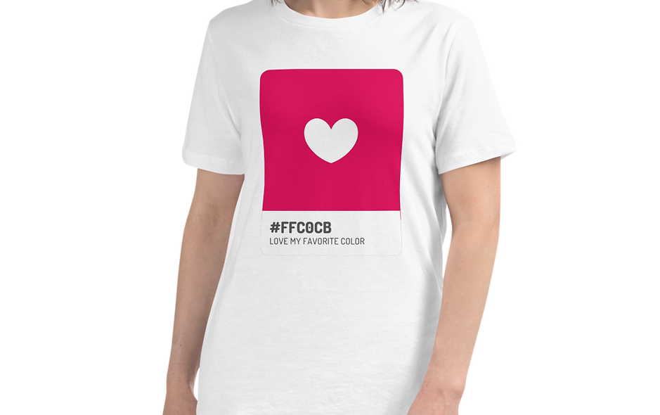 Love Is My Favorite Color Women's Relaxed T-Shirt