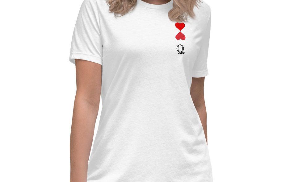 Queen of Hearts Women's Relaxed T-Shirt