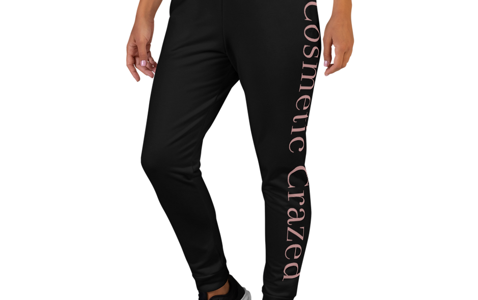 Black Cosmetic Crazed Women's Joggers