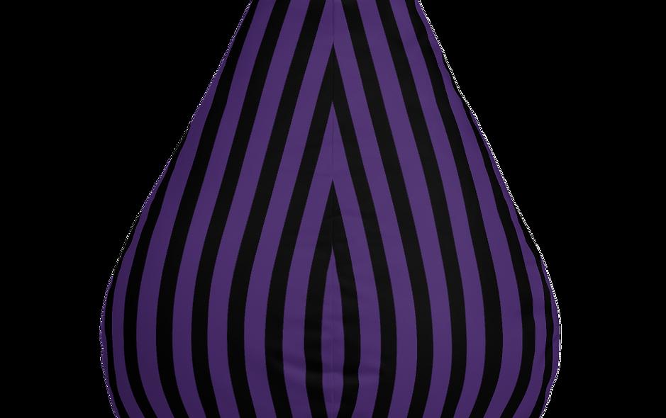 Striped Bean Bag Chair Cover