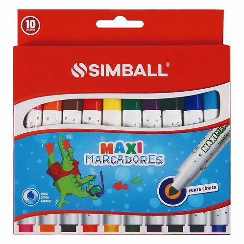 Fibras Simball Maxi jumbo x 10 u.