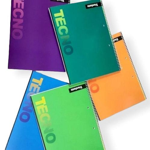 Cuaderno Universitario Triunfante Tecno x 80 hjs.