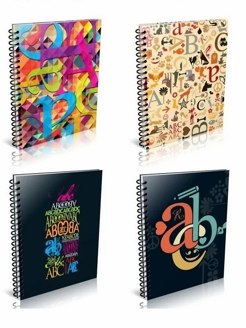 Cuaderno Universitario ABC 21 x 27 cm. 60 hjs. x 1 u.