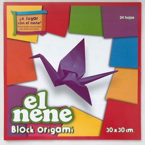Block El Nene origami 30 x 30 cm. 24 hjs.