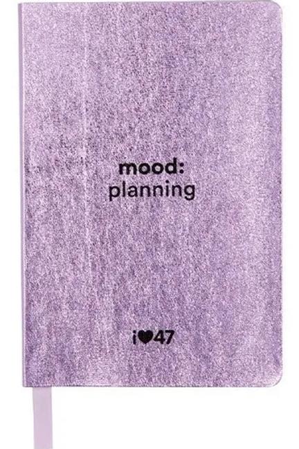 Agenda Mooving Planner semanal 47 Street Mensual
