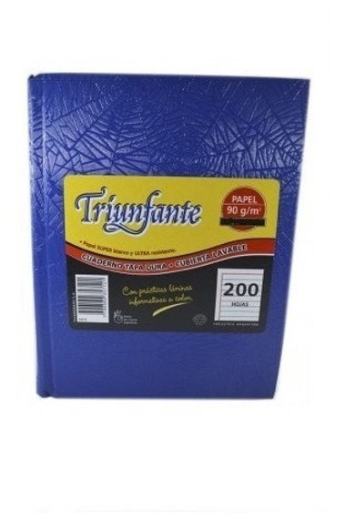 Cuaderno Triunfante tapa dura 200 hjs.
