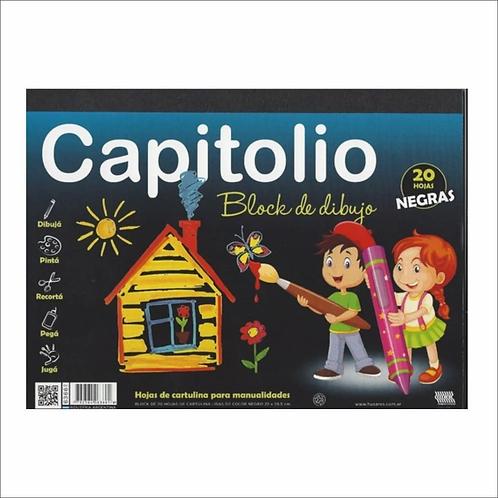 Block dibujo Capitolio Negro N°5 20 hjs x 1 u.