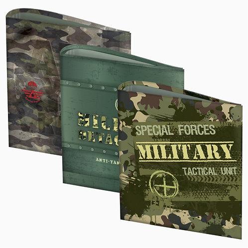 Carpeta  escolar N°3 FW 3 X 40 Military.