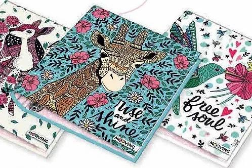 Carpeta escolar con aros Animal x 1 u.