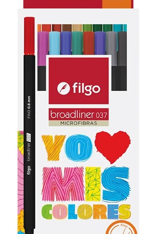 Microfibra Filgo Broadliner x 20 u.