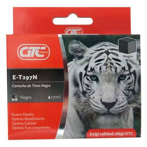 Cartucho GTC T297 para Epson Negro XL 17 ml