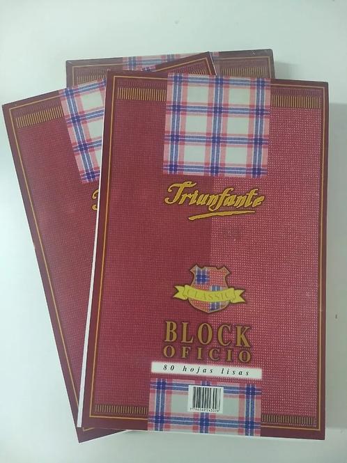 Block Triunfante Oficio light 80 hjs.