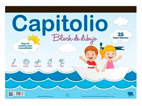 Block dibujo Capitolio blanca N°5 x 25 hojas