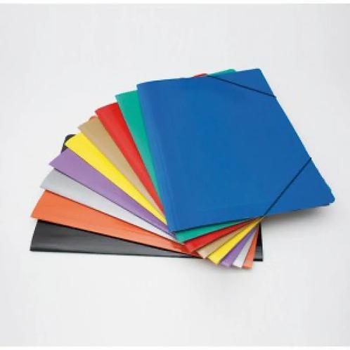 Carpeta c/elástico apta Hoja N6 / A3 de Carton