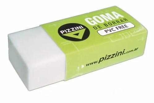 Goma Pizzini 65mm blanca  x 1 u.