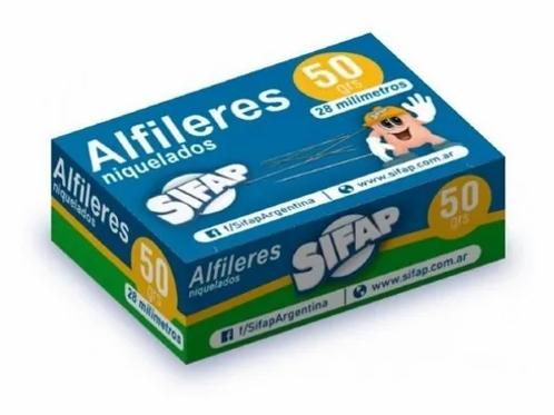 Alfileres Sifap x 50 gr.