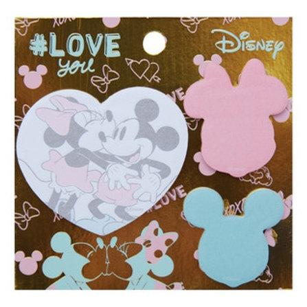 Maw Mickey & Minnie sticky notes adhesivos